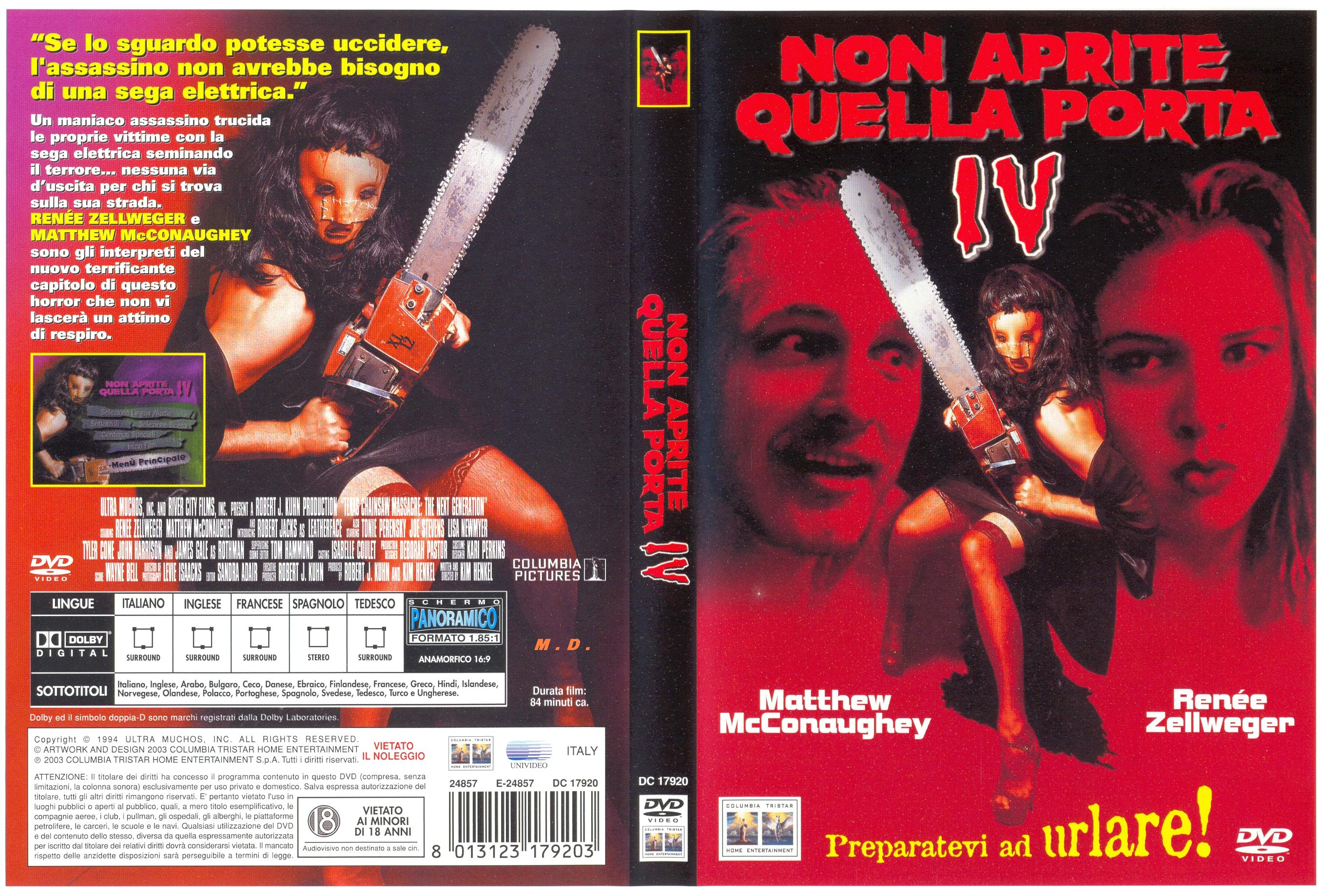 Non aprite quella porta iv the texas chainsaw massacre - Non bussate a quella porta ...